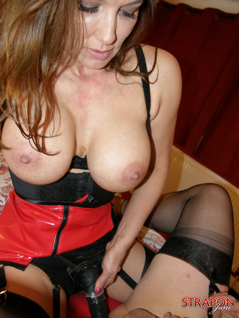 image Lady jane huge strapon fistingdouble fisting anal gap