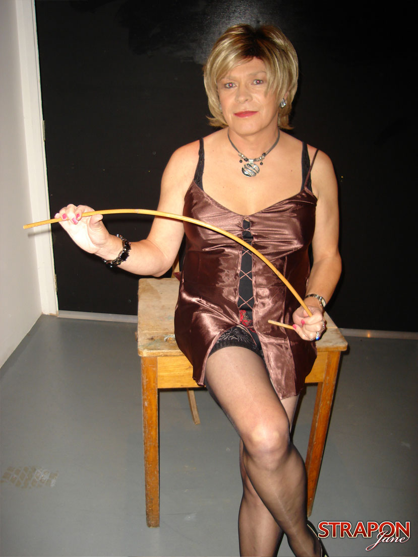 mature tgirl gets spanked and fuckedstrapon jane gallery from